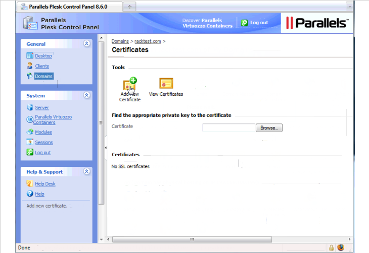 Installing Ssl Certificates In Linux The Official Rackspace Blog