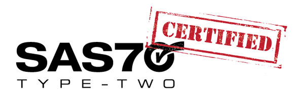 SAS 70 Type II Certified