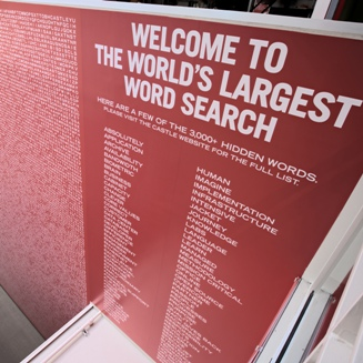World's Largest Word Search